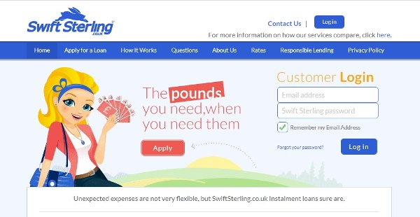 Swift-Sterling Payday Loans