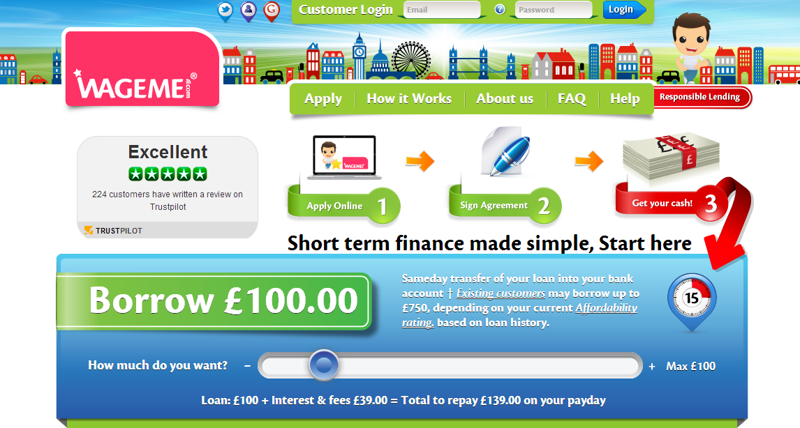 WageMe payday loans