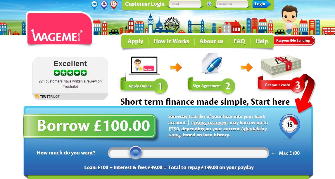 WageMe payday loans