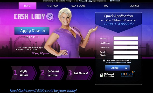 cashlady payday loans