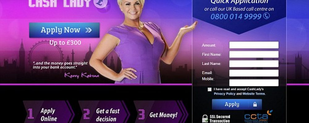 Cash Lady Payday Loans