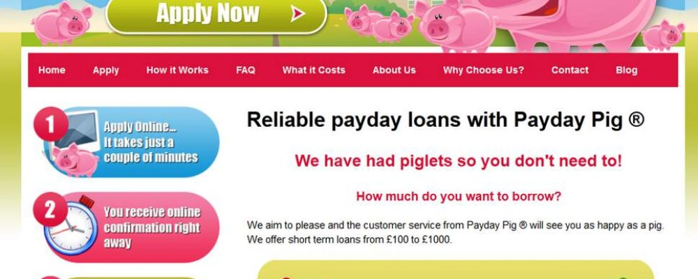 Payday Pig Loans